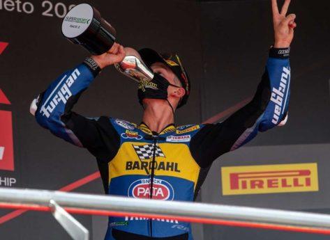 Fuga vincente per Locatelli a Jerez e terzo successo in tre gare