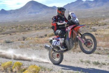 Ricky Brabec Monster Energy Honda Team Vegas to reno