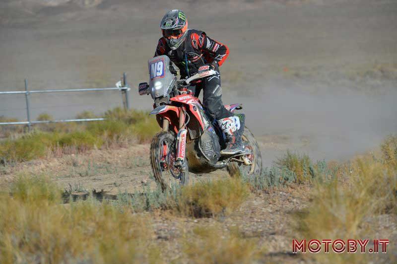 Ricky Brabec Honda Raly Vegas to Reno