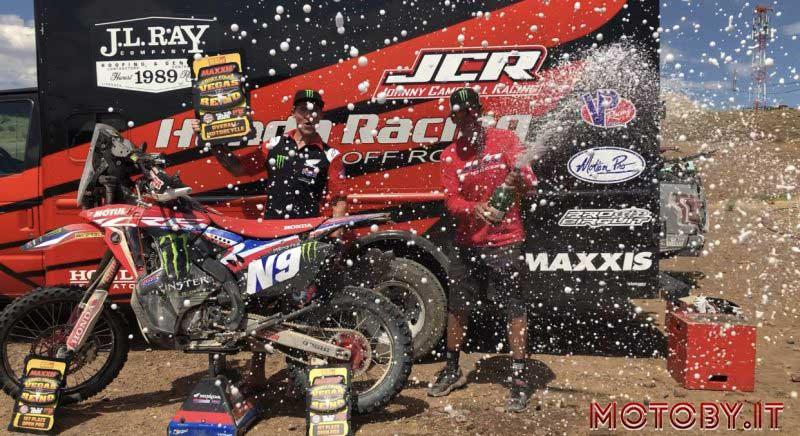 Ricky Brabec Honda Rally Vegas to Reno