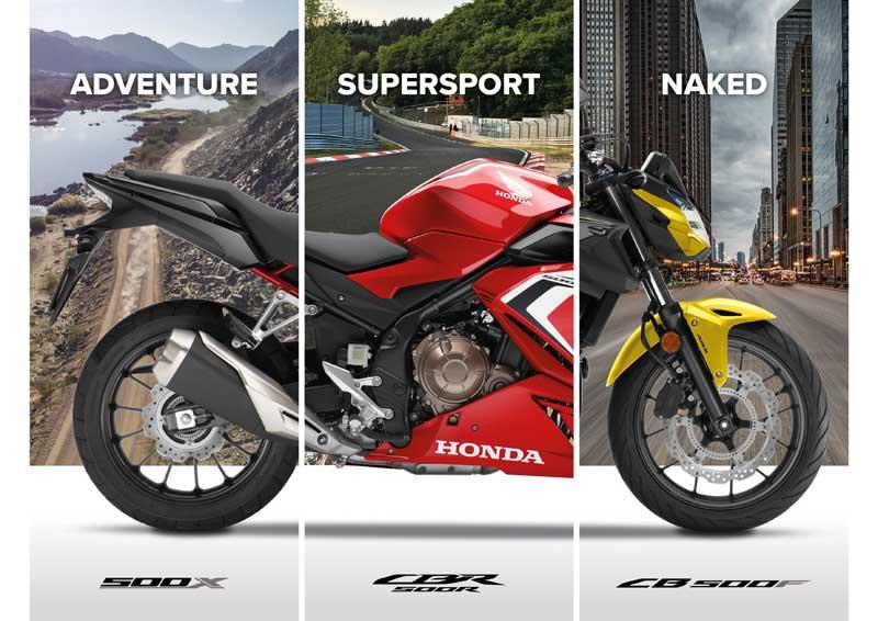 Honda Gamma 500 CB 2021