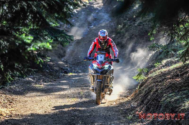 Andrea Rossi Ducati Multistrada Transanatolia Rally