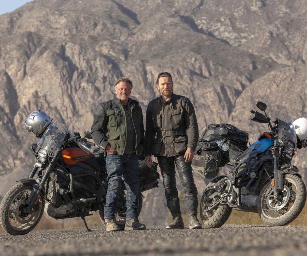 Ewan McGregor e Charley Boorman LiveWire