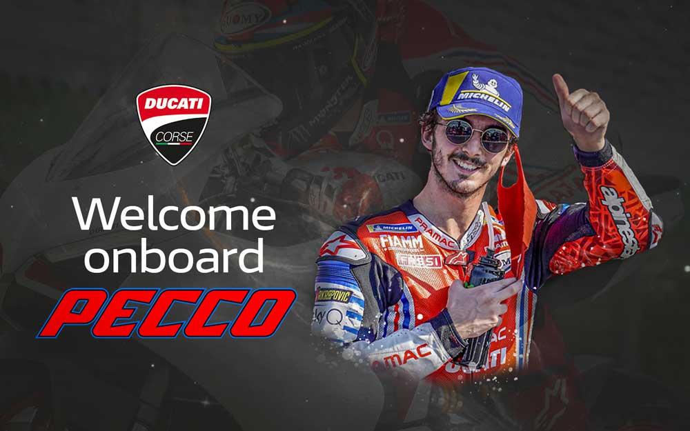 Pecco Bagnaia Ducati Corse MotoGP 2021
