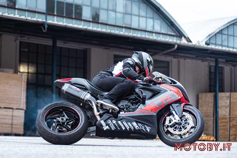 Thibaut Nogues MV Agusta F3 800