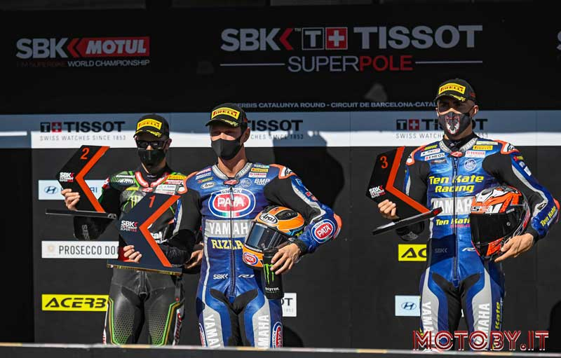 Podio Tissot Superpole Race