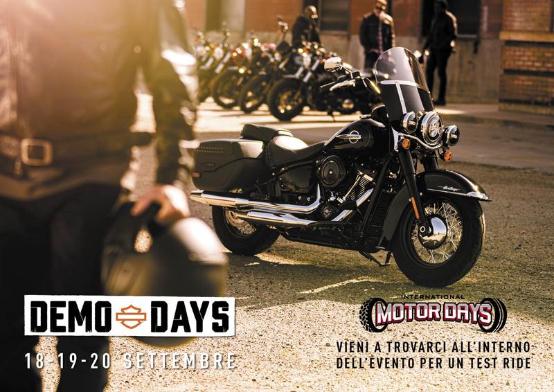demo days Harley-Davidson