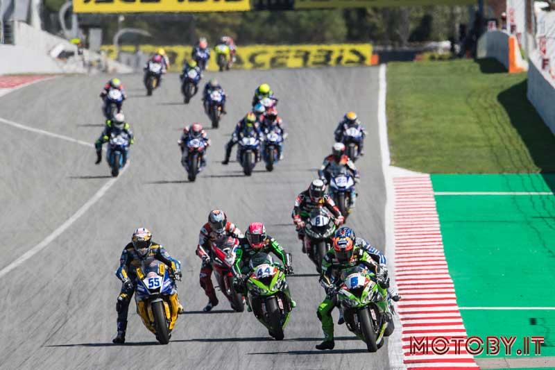 Kawasaki Puccetti Racing SBK Catalogna