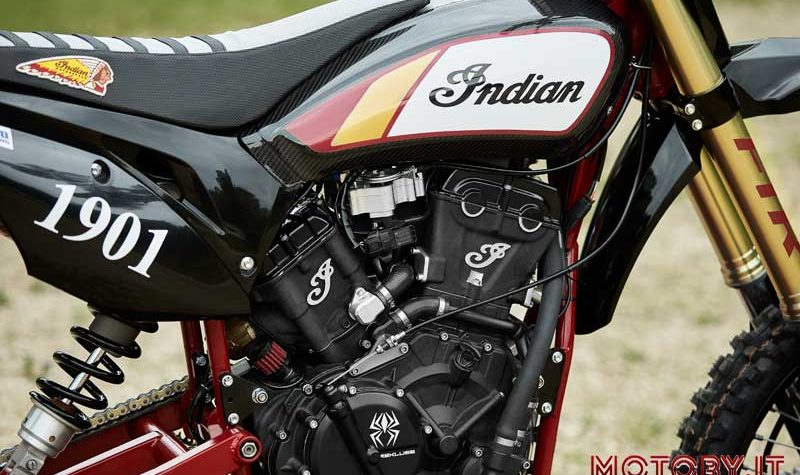 Indian FTR750 Hill Climb