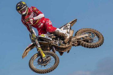 Kjer Olsen e Beaton sul podio in MX2 a Mantova