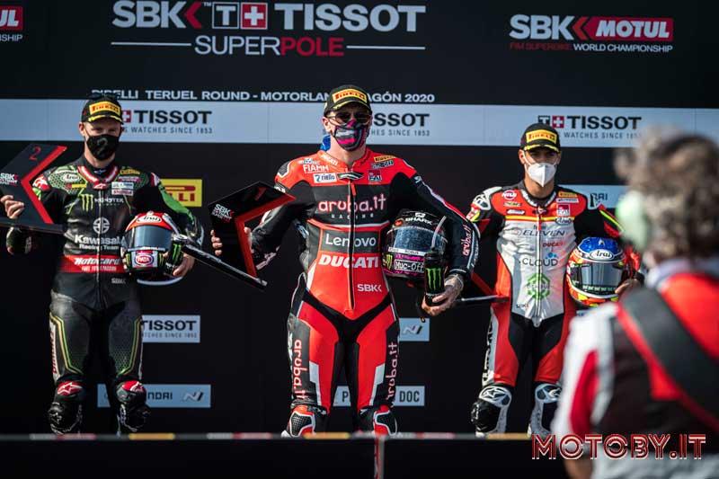 Aruba Ducati Scott Redding podio