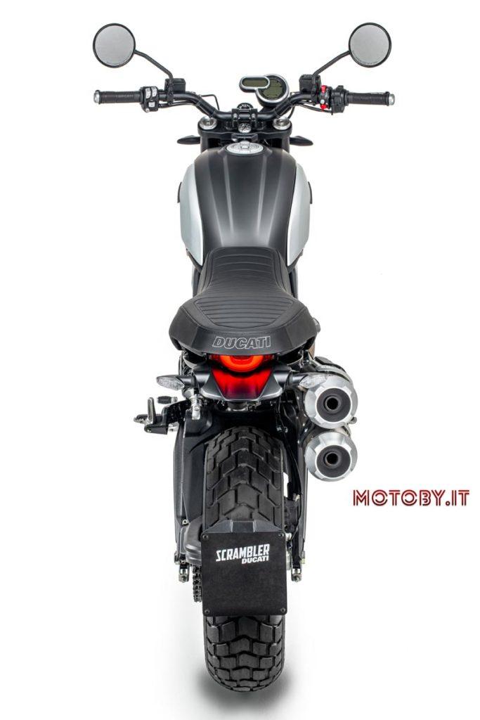 Scrambler Ducati 1100 PRO in versione Dark