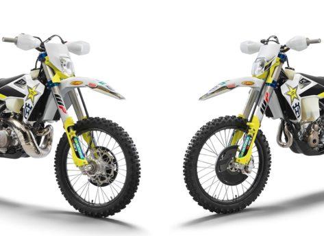 Husqvarna TE 300i e FE 350 Rockstar Edition