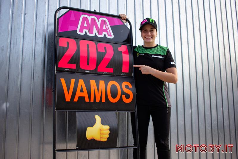 Ana Carrasco SSP300 2021 Provec - Kawasaki