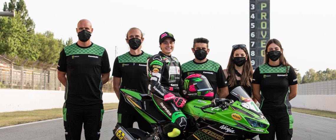 Ana Carrasco Team SSP300