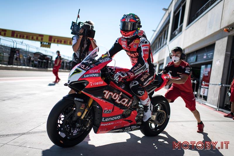 Aruba.it - Ducati Superbike 2021 - Chaz Davies