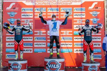 Metzeler Campione Europeo Supermoto 2020