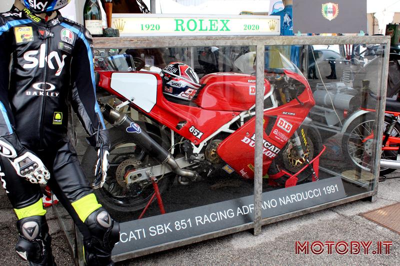 Ducati 851 Adriano Natucci, SBK 1991