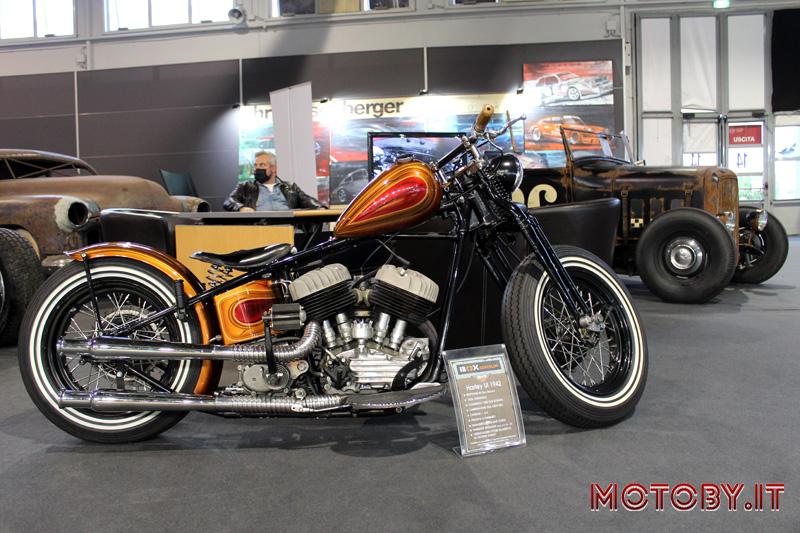 Harley-Davidson Model UL del 1942 Auto Moto d'Epoca