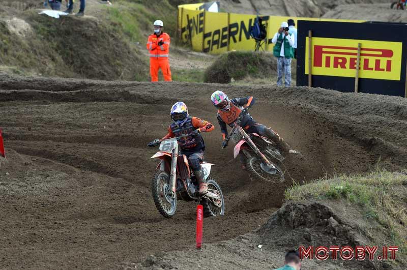 Jorge Prado e Mitch Evans MXGP