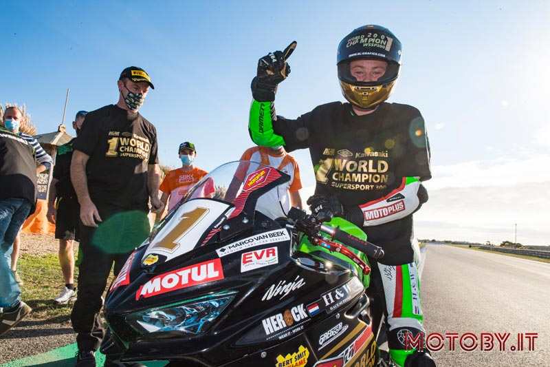 Jeffrey Buis Campione SSP300 Kawasaki