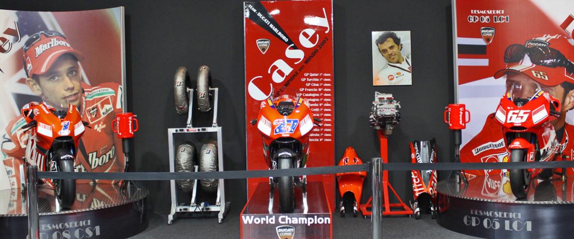 Scuderia Althea Racing e Museo Moto dei Miti