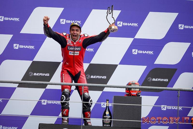 Danilo Petrucci Ducati MotoGP Francia