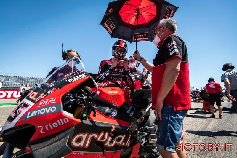 Aruba.it - Ducati Superbike 2021 - Scott Redding