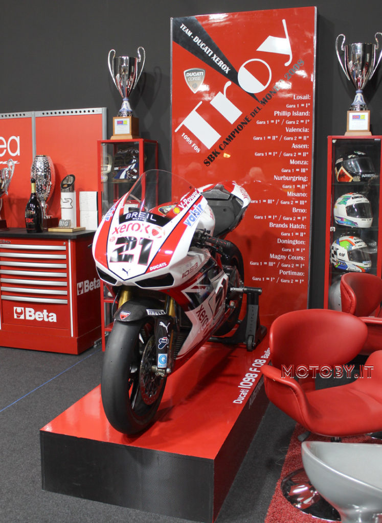 Ducati 1098 F08 di Troy Bayliss SBK2008