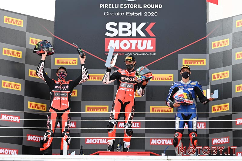 Estoril SuperBike podio