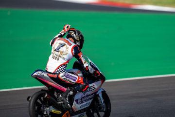 Albert Arenas vince il Campionato del Mondo Moto3 ™ 2020 in Portogallo