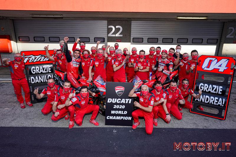 Ducati Campione del Mondo MotoGP
