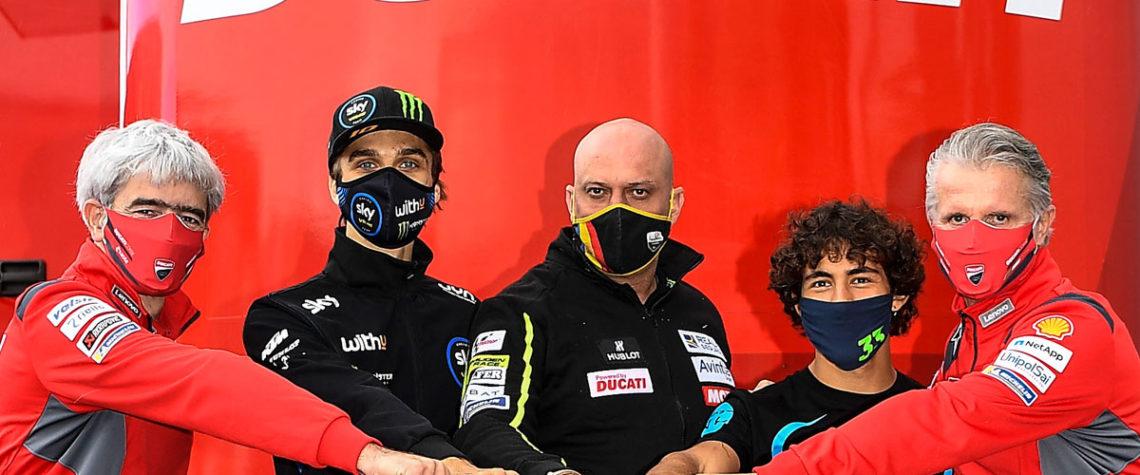 Bastianini e Marini Team Esponsorama Racing