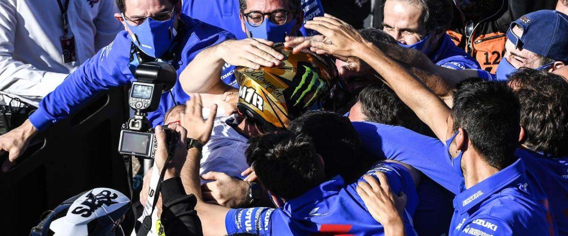 Joan Mir Campione Moto GP 2020 Suzuki
