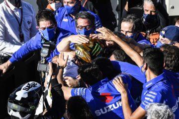 Joan Mir Campione del Mondo Moto GP con Suzuki