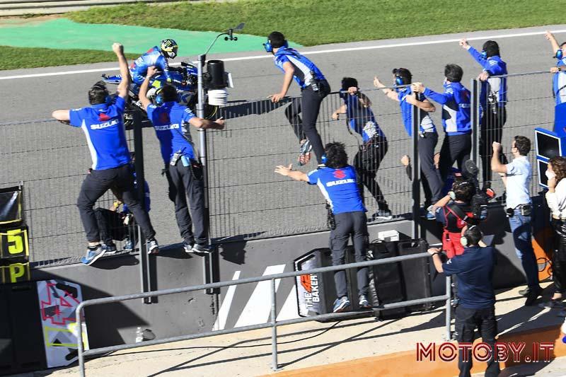 Joan Mir Campione del Mondo Moto GP Suzuki