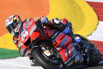 Ducati Campione del Mondo MotoGP saluta Dovizioso e Petrucci