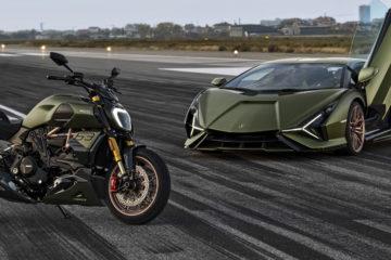 Ducati Diavel 1260 Lamborghini: dietro le quinte