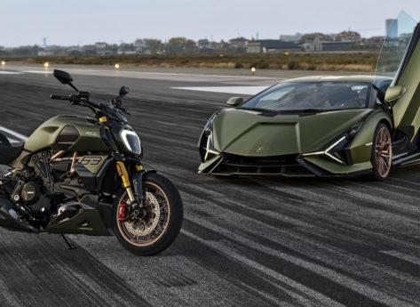 Lamborghini ispira Ducati per il Diavel 1260