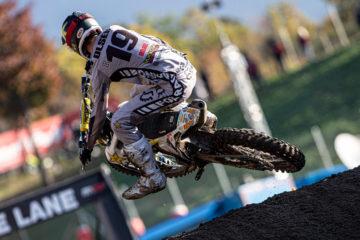 Buona gara per Kjer Olsen al MX del Trentino
