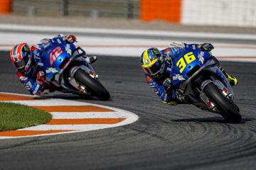 Domenica Perfetta in MotoGP per Suzuki: sul podio Mir e Rins