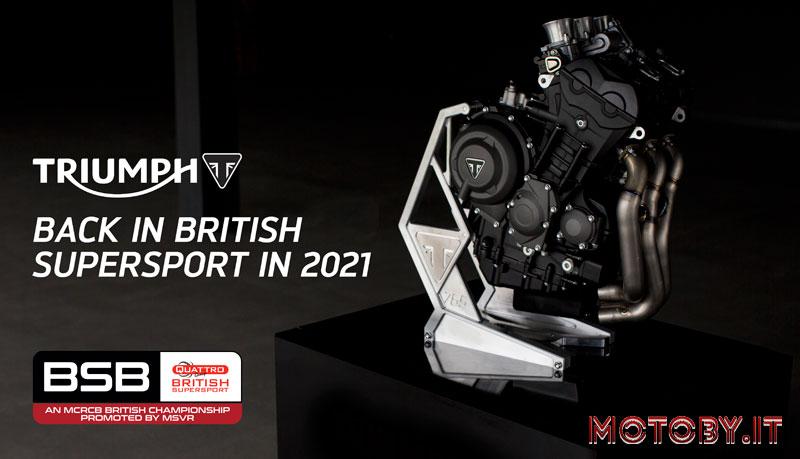 British Supersport Triumph