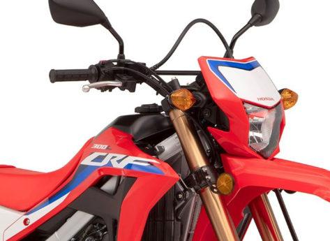 Honda CRF300L 2021: più potenza e più coppia