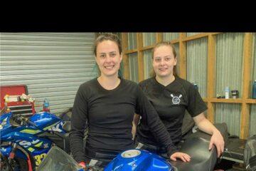 Le sorelle Dowman tornano in pista alla Gixxer Cup