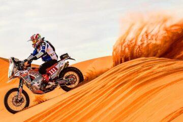 """Movisport al via della """"Dakar"""" con Cesare Zacchetti e la KTM"""