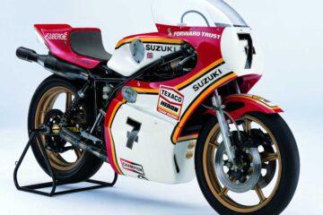 Barry Shen Suzuki RG500 1977