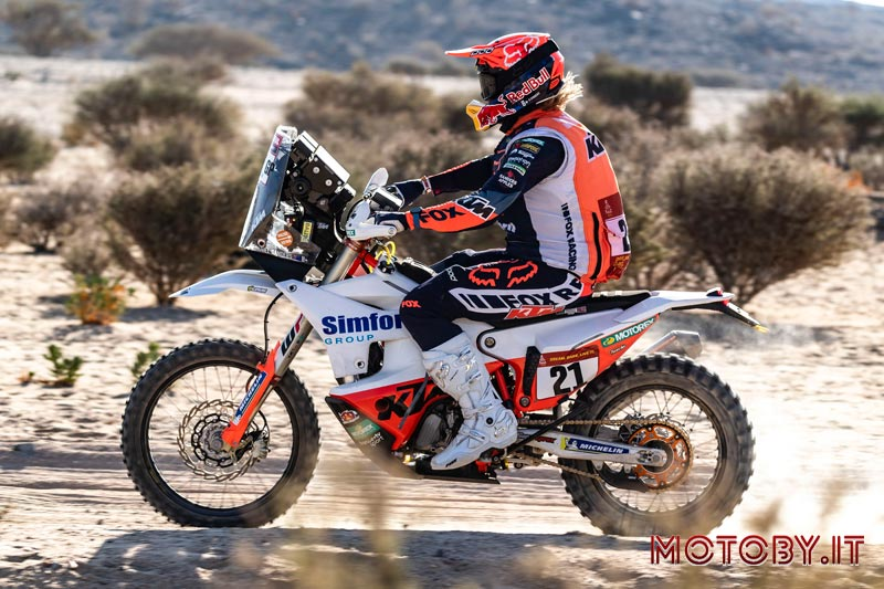 Daniel Sanders - Dakar Rally 2021