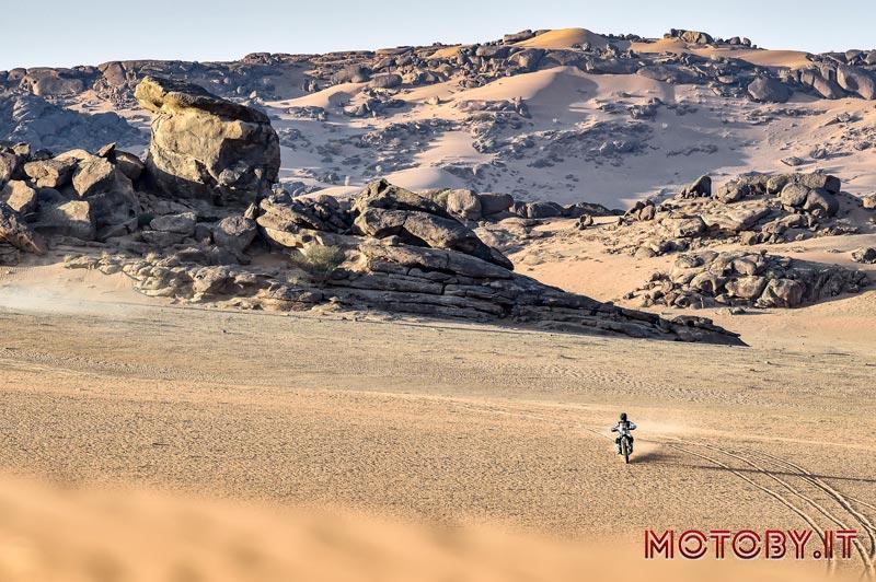 Luciano Benavides Husqvarna Dakar 2021