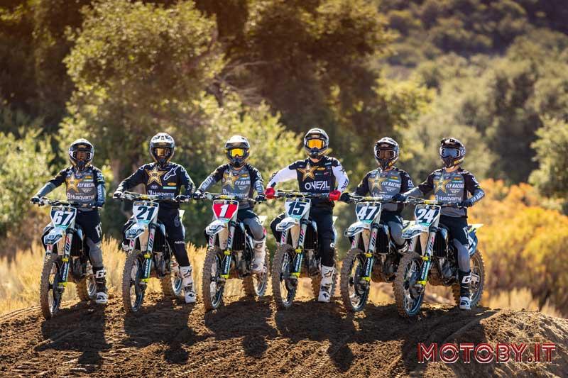 Rockstar Energy Husqvarna Factory Racing AMA Supercross 2021