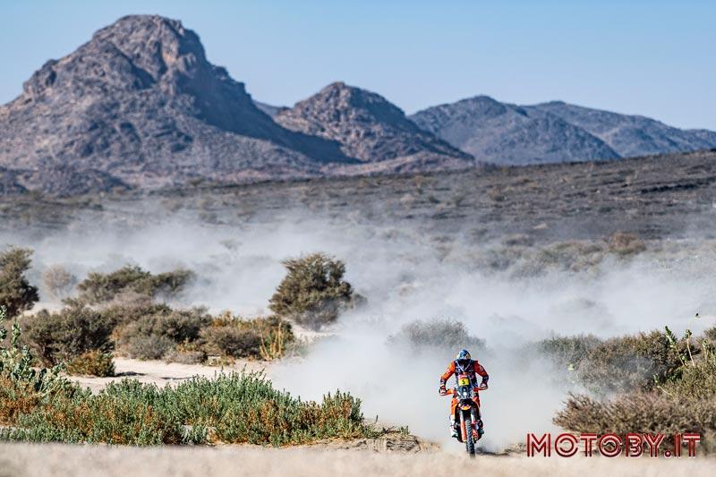 Sam Sunderland Dakar Rally 2021